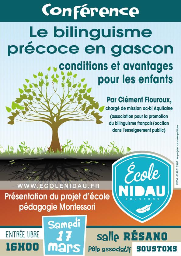 Conférence Montessori Souston - école Nidau